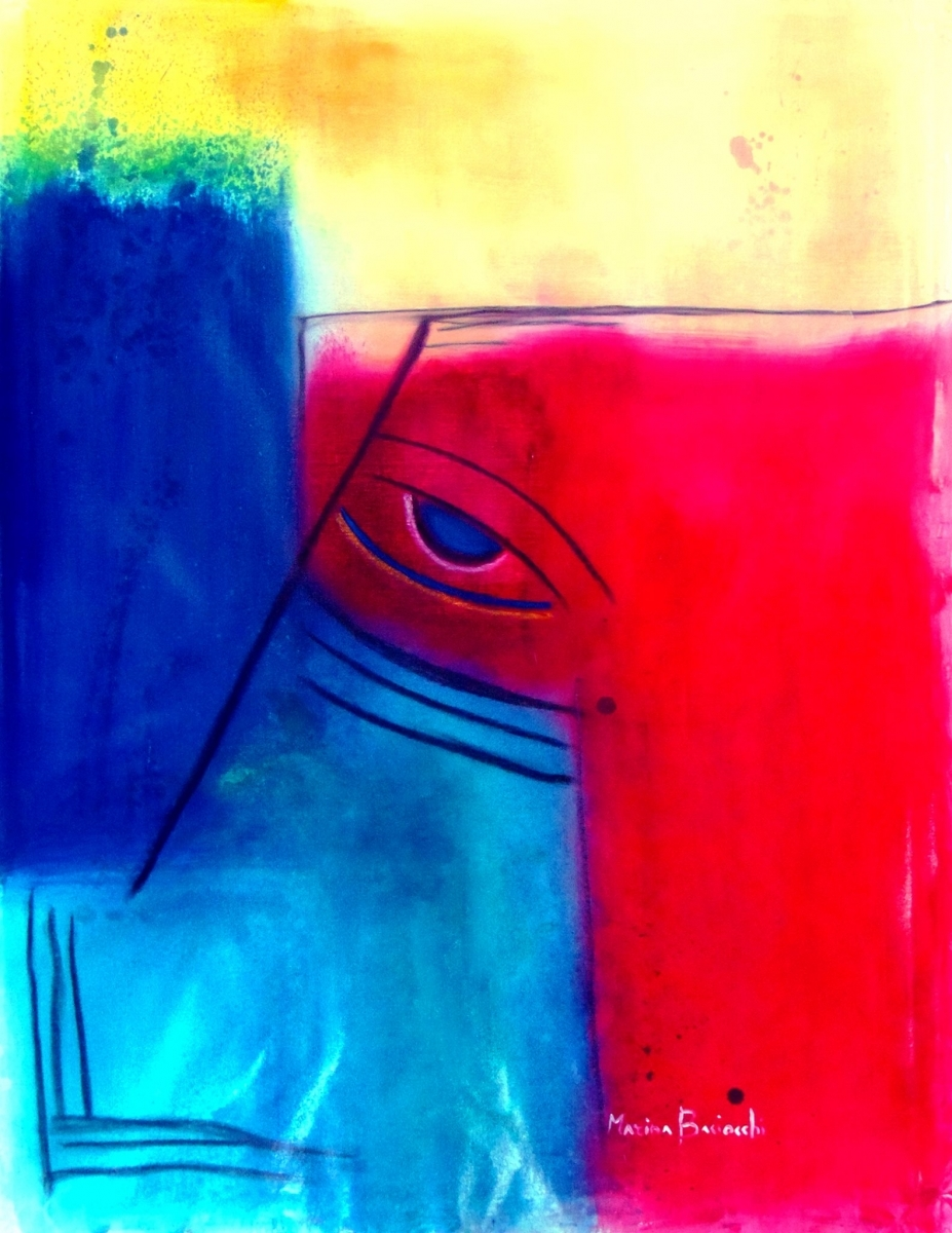 L' occhio-blu